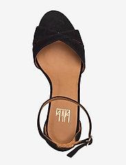 Billi Bi - Sandals 4628 - høyhælte sandaler - black suede 50 - 3