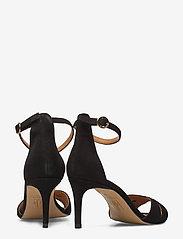 Billi Bi - Sandals 4628 - høyhælte sandaler - black suede 50 - 4