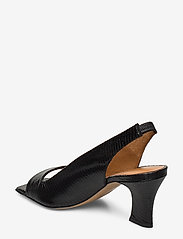 Billi Bi - Sandals 4636 - peeptoes - black lizard 300 - 2