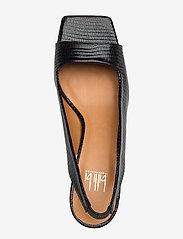 Billi Bi - Sandals 4636 - peeptoes - black lizard 300 - 3