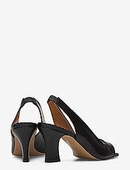 Billi Bi - Sandals 4636 - peeptoes - black lizard 300 - 4