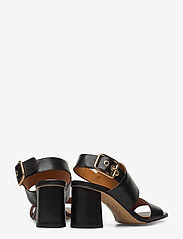 Billi Bi - Sandals 4645 - høyhælte sandaler - black calf 80 - 4