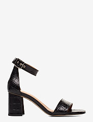 Billi Bi - Sandals 4647 - høyhælte sandaler - black monterey croco 20 - 1