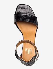 Billi Bi - Sandals 4647 - høyhælte sandaler - black monterey croco 20 - 3