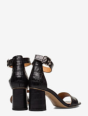 Billi Bi - Sandals 4647 - høyhælte sandaler - black monterey croco 20 - 4