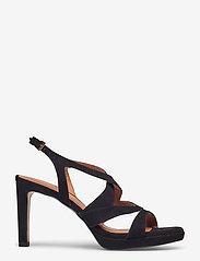 Billi Bi - Sandals 4675 - høyhælte sandaler - black suede 50 - 1