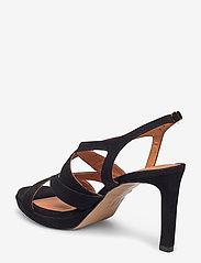 Billi Bi - Sandals 4675 - høyhælte sandaler - black suede 50 - 2