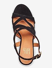 Billi Bi - Sandals 4675 - høyhælte sandaler - black suede 50 - 3