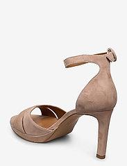 Billi Bi - Sandals 4677 - høyhælte sandaler - rose suede 58 - 2