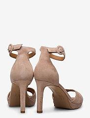 Billi Bi - Sandals 4677 - høyhælte sandaler - rose suede 58 - 4