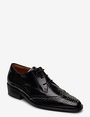 Billi Bi - Shoes 4702 - buty sznurowane - black polido /silver 900 - 0