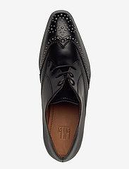 Billi Bi - Shoes 4702 - buty sznurowane - black polido /silver 900 - 3