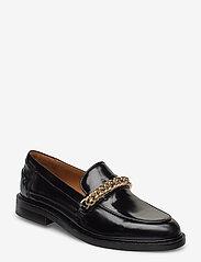 Billi Bi - Shoes 4710 - mokasyny - black polido/gold  900 - 0