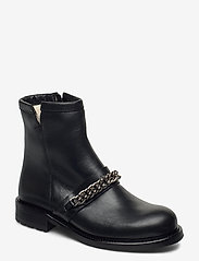 Billi Bi - Boots 4799 - flat ankle boots - black tomcat/silver 803 - 0