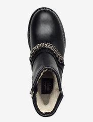 Billi Bi - Boots 4799 - flat ankle boots - black tomcat/silver 803 - 3