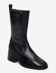 Billi Bi - Boots 4814 - enkellaarsjes met hak - black yango comb. 190 y - 0