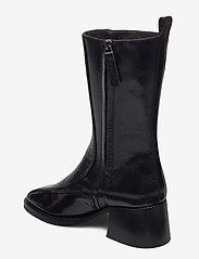 Billi Bi - Boots 4814 - enkellaarsjes met hak - black yango comb. 190 y - 2