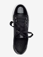 Billi Bi - Sport 4825 - sneakers med lav ankel - black patent/calf/wh. sole 283 - 3