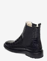 Billi Bi - Boots 4840 - chelsea boots - black luisiana croco 10 - 2