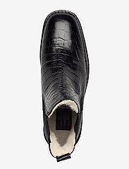 Billi Bi - Boots 4840 - chelsea boots - black luisiana croco 10 - 3