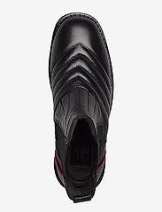 Billi Bi - Boots 4843 - chelsea boots - black nappa/red stripe 70 - 3