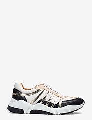 Billi Bi - Sport 4860 - sneakers med lav ankel - black/white/gold comb.723 - 1