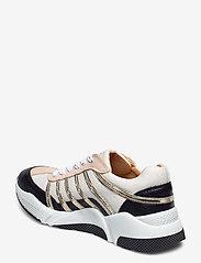 Billi Bi - Sport 4860 - sneakers med lav ankel - black/white/gold comb.723 - 2