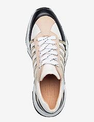 Billi Bi - Sport 4860 - sneakers med lav ankel - black/white/gold comb.723 - 3