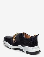 Billi Bi - Sport 4862 - sneakers med lav ankel - black luisiana croco/gold 102 - 2