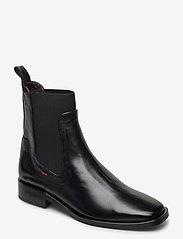 Billi Bi - Boots 4900 - flate ankelstøvletter - black calf 80 - 0