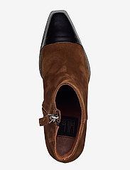 Billi Bi - Boots 4932 - wysoki obcas - bl.polido/lt.brown 976 sue.955 - 3