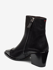 Billi Bi - Boots 4932 - wysoki obcas - black polido/black calf 980 - 2