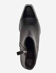 Billi Bi - Boots 4932 - wysoki obcas - black polido/black calf 980 - 3