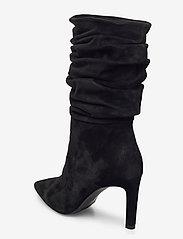Billi Bi - Booties 5233 - lange laarzen - black babysilk suede 500 - 2
