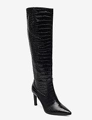 Billi Bi - Long Boots 5234 - höga stövlar - black luisiana croco  10 - 0