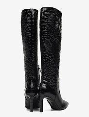 Billi Bi - Long Boots 5234 - höga stövlar - black luisiana croco  10 - 4