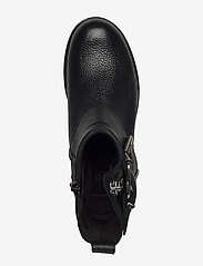 Billi Bi - Boots 5892 - flate ankelstøvletter - black floater/silver 403 - 3