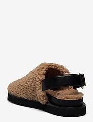 Billi Bi - Slipper  6070 - mules & slipins - nougat lamb/black sole 934 - 2