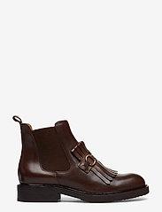 Billi Bi - Boots 7426 - flate ankelstøvletter - texas chocolate/gold 862 - 0