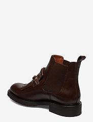 Billi Bi - Boots 7426 - flate ankelstøvletter - texas chocolate/gold 862 - 2