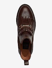 Billi Bi - Boots 7426 - flate ankelstøvletter - texas chocolate/gold 862 - 3