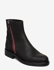 Billi Bi - Boots 83450 - chelsea boots - black snake/red zip 30 - 0