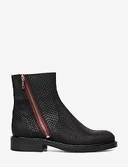 Billi Bi - Boots 83450 - chelsea boots - black snake/red zip 30 - 1