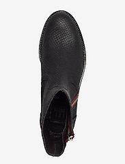 Billi Bi - Boots 83450 - chelsea boots - black snake/red zip 30 - 3