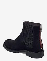Billi Bi - Boots 83451 - chelsea boots - black suede/red zip 509 - 2