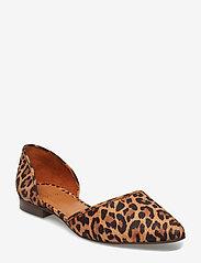 Billi Bi - Shoes 8660 - ballerinasko - leopardo suede 542 - 0