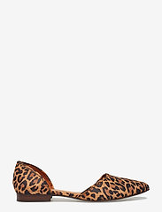 Billi Bi - Shoes 8660 - ballerinasko - leopardo suede 542 - 1