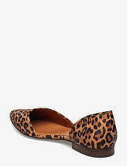 Billi Bi - Shoes 8660 - ballerinasko - leopardo suede 542 - 2