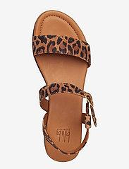 Billi Bi - Sandals 8714 - flate sandaler - leopardo suede 542 - 3
