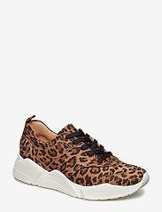 Billi Bi - Sport 8840 - chunky sneakers - leopardo suede 542 - 0